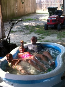 pool with pawpaw